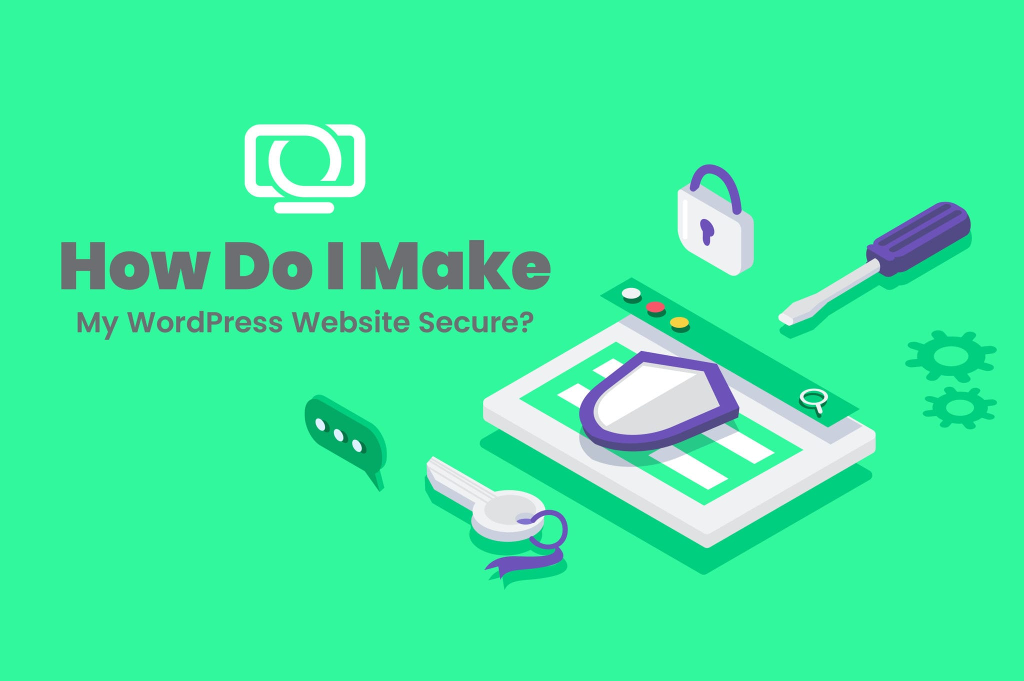 how to make my website secure