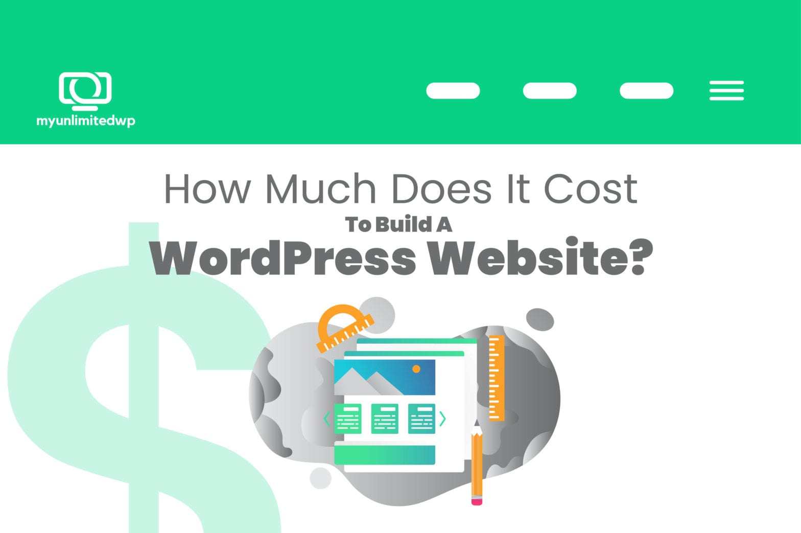Cost to build a Wordpress website