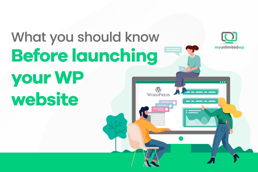 2021 WordPress website launch checklist